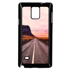 Iceland Sky Clouds Sunset Samsung Galaxy Note 4 Case (black)