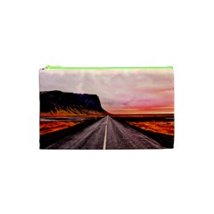 Iceland Sky Clouds Sunset Cosmetic Bag (xs)