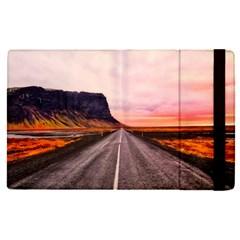 Iceland Sky Clouds Sunset Apple Ipad Pro 12 9   Flip Case