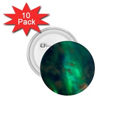 Northern Lights Plasma Sky 1 75  Buttons (10 Pack)