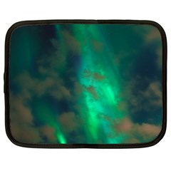 Northern Lights Plasma Sky Netbook Case (large)