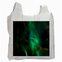 Northern Lights Plasma Sky Recycle Bag (two Side)