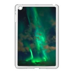 Northern Lights Plasma Sky Apple Ipad Mini Case (white)