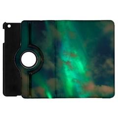 Northern Lights Plasma Sky Apple Ipad Mini Flip 360 Case