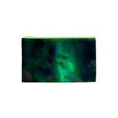 Northern Lights Plasma Sky Cosmetic Bag (xs)