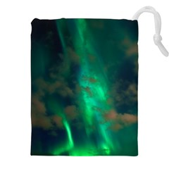 Northern Lights Plasma Sky Drawstring Pouches (xxl)