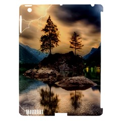 Sunset Dusk Sky Clouds Lightning Apple Ipad 3/4 Hardshell Case (compatible With Smart Cover)