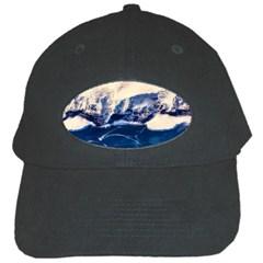 Antarctica Mountains Sunrise Snow Black Cap