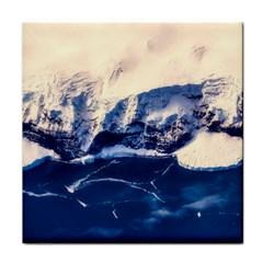 Antarctica Mountains Sunrise Snow Face Towel