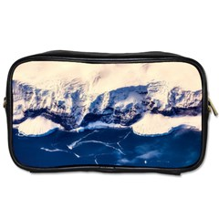 Antarctica Mountains Sunrise Snow Toiletries Bags 2 Side