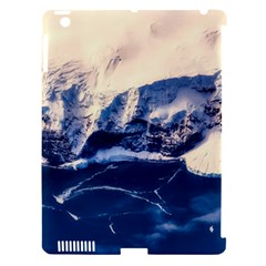 Antarctica Mountains Sunrise Snow Apple Ipad 3/4 Hardshell Case (compatible With Smart Cover)