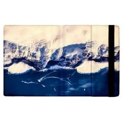 Antarctica Mountains Sunrise Snow Apple Ipad 2 Flip Case