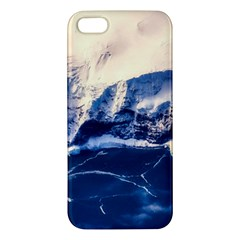 Antarctica Mountains Sunrise Snow Apple Iphone 5 Premium Hardshell Case