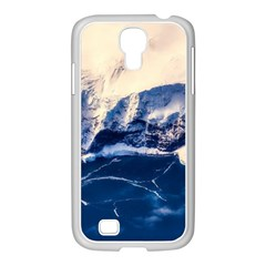Antarctica Mountains Sunrise Snow Samsung Galaxy S4 I9500/ I9505 Case (white)