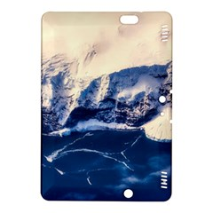 Antarctica Mountains Sunrise Snow Kindle Fire Hdx 8 9  Hardshell Case