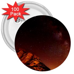 Italy Night Evening Stars 3  Buttons (100 Pack)