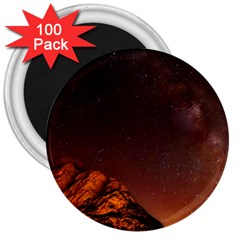 Italy Night Evening Stars 3  Magnets (100 Pack)