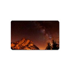 Italy Night Evening Stars Magnet (name Card)