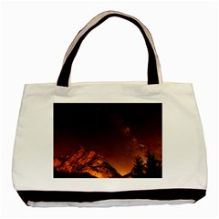 Italy Night Evening Stars Basic Tote Bag (two Sides)