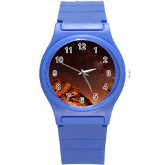 Italy Night Evening Stars Round Plastic Sport Watch (s)