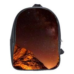 Italy Night Evening Stars School Bag (xl)