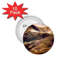 Iceland Mountains Sky Clouds 1 75  Buttons (10 Pack)