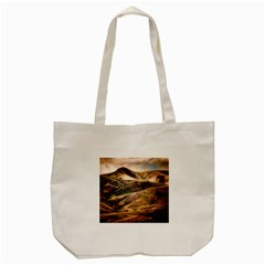 Iceland Mountains Sky Clouds Tote Bag (cream)