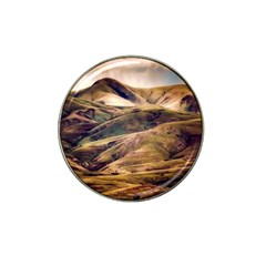 Iceland Mountains Sky Clouds Hat Clip Ball Marker (4 Pack)