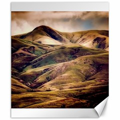 Iceland Mountains Sky Clouds Canvas 20  X 24