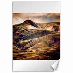 Iceland Mountains Sky Clouds Canvas 20  X 30