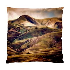 Iceland Mountains Sky Clouds Standard Cushion Case (two Sides)