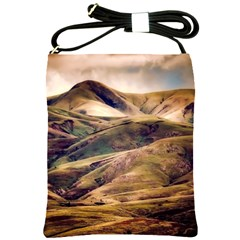 Iceland Mountains Sky Clouds Shoulder Sling Bags