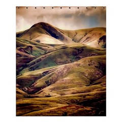 Iceland Mountains Sky Clouds Shower Curtain 60  X 72  (medium)