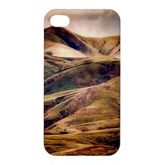 Iceland Mountains Sky Clouds Apple Iphone 4/4s Hardshell Case