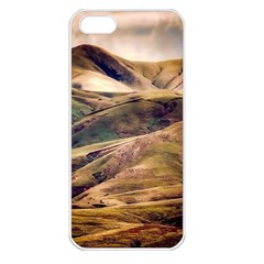 Iceland Mountains Sky Clouds Apple Iphone 5 Seamless Case (white)