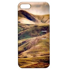 Iceland Mountains Sky Clouds Apple Iphone 5 Hardshell Case With Stand