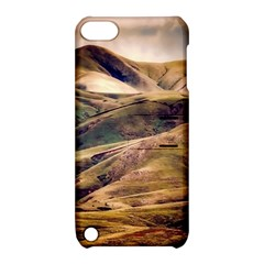 Iceland Mountains Sky Clouds Apple Ipod Touch 5 Hardshell Case With Stand