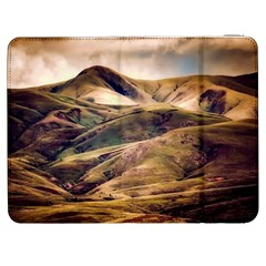Iceland Mountains Sky Clouds Samsung Galaxy Tab 7  P1000 Flip Case