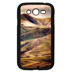 Iceland Mountains Sky Clouds Samsung Galaxy Grand Duos I9082 Case (black)