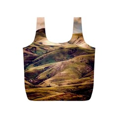 Iceland Mountains Sky Clouds Full Print Recycle Bags (s)