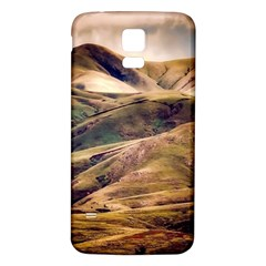 Iceland Mountains Sky Clouds Samsung Galaxy S5 Back Case (white)