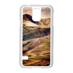 Iceland Mountains Sky Clouds Samsung Galaxy S5 Case (white)