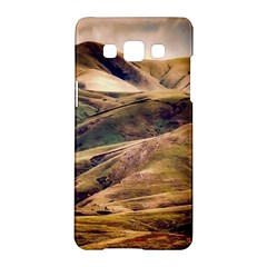 Iceland Mountains Sky Clouds Samsung Galaxy A5 Hardshell Case