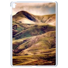 Iceland Mountains Sky Clouds Apple Ipad Pro 9 7   White Seamless Case