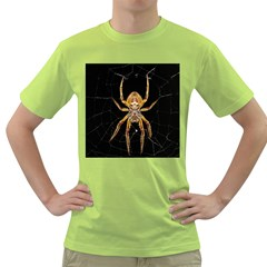 Insect Macro Spider Colombia Green T Shirt