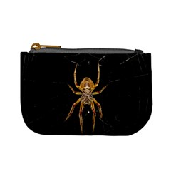 Insect Macro Spider Colombia Mini Coin Purses