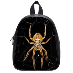 Insect Macro Spider Colombia School Bag (small)