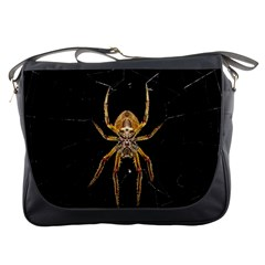 Insect Macro Spider Colombia Messenger Bags