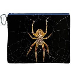 Insect Macro Spider Colombia Canvas Cosmetic Bag (xxxl)