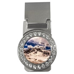 Italy Landscape Mountains Winter Money Clips (cz)